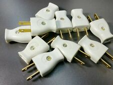 10x AC Plugs 15A 120V 2 Prong Residential Grade Plug Same as Leviton