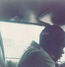 Car Guy FOUND PHOTO Color FREE SHIPPING Original Snapshot VINTAGE Man 811 15 G
