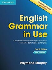 English Grammar in Use Book with Answers: A Self-Study Reference and... NEW BOOK