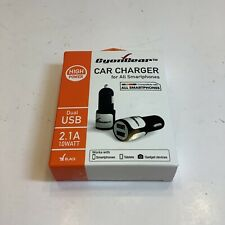 Cellet Universal High Powered 10Watt / 2.1A Dual USB iPhone Android Car Charger