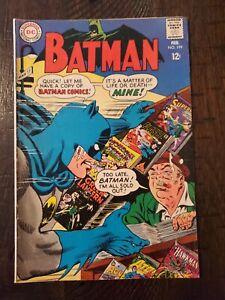 BATMAN #199 VG/FINE  1968
