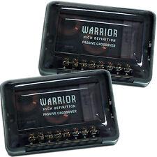 Hifonics Warrior Crossover 2 Wege Frequenzweichen 2 Stück