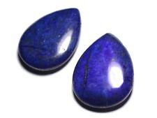 Pendentif Pierre semi précieuse - Lapis Lazuli Grande Goutte 60mm - 455855009162