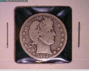 1913 D Barber Quarter ( 44-197 10m1 )