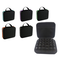 30 Bottle Essential Oil Carry Case 5ML~15ML Holder Storage Aromatherapy Hand Bag