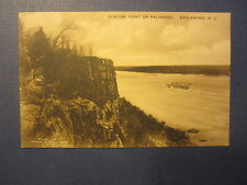 Old c.1910 - Clinton Point on Palisades - POSTCARD - Englewood N.J.