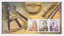 AUSTRALIA POST 1999 'NAVIGATORS - DAMPIER, BASS & KING' - STAMP MINI SHEET - MNH