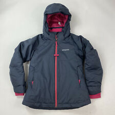 Patagonia Girls Snowbelle Jacket Size Small (7-8) Insulated Winter Coat
