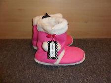 Nuevas Botas De Piel Sintética Snugg Zapatillas Rosa Size Uk 5 EU 38