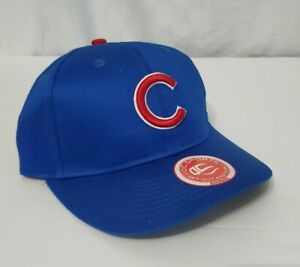 Chicago Cubs Youth OC Sports Replica 6 Panel Team MLB Baseball Hat Cap New Blue