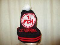"1.FC Nürnberg Original 1.FCN Kollektion Bommel Mütze ""1.FCN Wappen"" Neu"