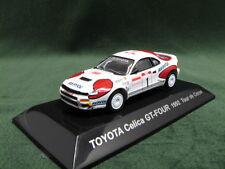 TOYOTA CELICA GT-Four (ST185) 1992 WRC Tour de Corse  1:64 CM's Japan