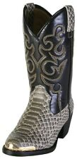 Smoky Mountain Snakeskin Cowboy boots children Sz 9 children