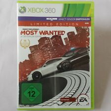 XBOX 360-Microsoft ► Need for Speed: most Wanted-Limited Edition ◄ Top