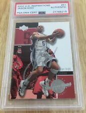 Jason Kidd 2002 Signed Autographed Card Psa Certified Authentic #51