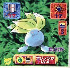 POKEMON STICKER Carte JAPANESE 50X50 1997 NORM@L N° 246 ODDISH MYSTHERBE