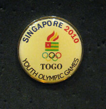 Singapore 2010 rare TOGO YOG Olympic NOC team DELEGATION  pin