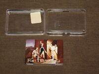 VINTAGE FORT TICONDEROGA PLAYING CARDS IN PLASTIC CASE NEW UNOPENED
