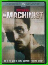 The Machinist DVD Christian Bale