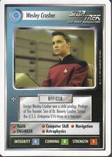 STAR TREK CCG WHITE BORDER PREMIERE 1995 BETA RARE CARD WESLEY CRUSHER