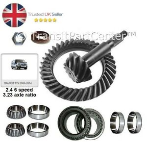AXLE DIFF CROWN WHEEL GEAR PINION KIT FOR FORD TRANSIT MK7 2006-2014 3.73