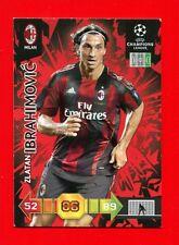 CHAMPIONS LEAGUE 2010-11 Panini 2011 - BASIC Card - IBRAHIMOVIC - MILAN