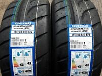 4 x 195/50/15 toyo r888r gg compound/rally tyres/race tyres/trackday tyres/race