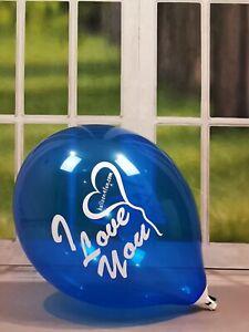 "10 x 17""/43cm TUF-TEX Balloons Luftballons * I Love You *"
