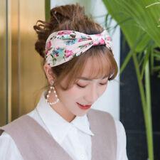Boho Women Nurse Floral Wide Elastic Headband Hair Band Sweatband Sport Headwrap