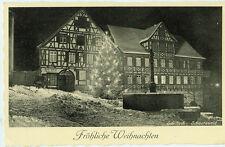 Alte Ansichtskarte Postkarte Schiftach Weihnachten s/w