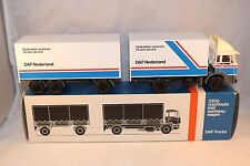 "Lion Car Daf 1900 ""Daf Nederland"" truck with trailer 99% mint in box condition"