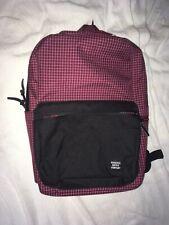 herschel &supply backpack Harrison Wine Grid Laptop Bookbag