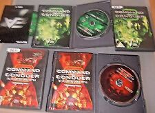 Command & Conquer 3 Deluxe Edition PC inc Kanes wrath exp Tiberium wars 3 VGC