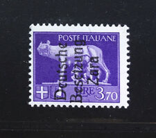 GERMAN Occupation ZARA TEDESCA  Sass. #14  Mint NEVER Hinged Signed Twice OD 961