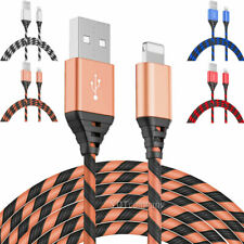 2 Pack Charger Cable Heavy Duty Charging Cord For iPhone 6 7 8 XR 11 12 Pro Max