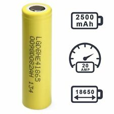 LG HE4 18650 2500mAh 20A | Authentic Original Rechargeable Battery LGDBHE41865