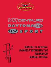 CD MANUALE OFFICINA MANUTENZIONE MOTO GUZZI V10 CENTAURO-DAYTONA RS-1100 SPORT