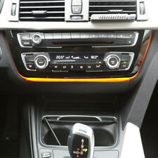 Gloss Black Car LED Light Dash AC Panel Trim For BMW F30 F32 F80 Chassis Car LCI