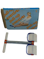Vintage New Pull-Up Exerciser Spring Action Rowing Row Ab 1980's in Box