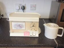 Retro Swan Compact Teasmade Model D01-1 With Photo frame & Detachable Tray