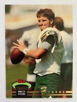 1992 Topps Stadium Club High Series BRETT FAVRE #683, 1st Packers Card, SP