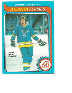 1979-80 O-Pee-Chee #33 Garry Unger Atlanta Flames