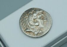 Tetradrachm Ancient Greek Coin Alexander III The Great Lifetime Issue Silver