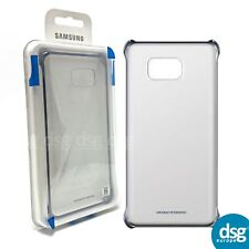 GENUINE SAMSUNG CLEAR BACK COVER CASE FOR GALAXY NOTE 5 BLUE EDITION