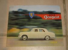 * catalogue peugeot 403 1959 break cabriolet berline