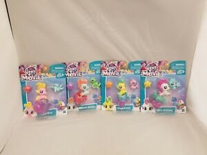 MY LITTLE PONY MOVIE BABY SEA PONIES BUNDLE OF 4 FIGURES new MLP