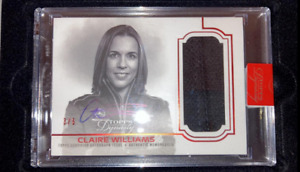 Claire Williams 2020 Topps Dynasty Formula 1 Auto Patch Williams Racing 3/5