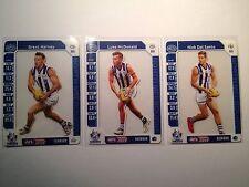 2015 Teamcoach Team Coach North Melbourne Prize Card Set Harvey DalSanto McDonal