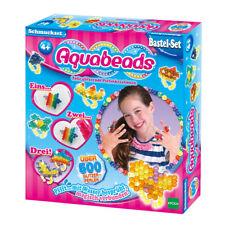 Aquabeads Schmuckset Glitzerperlen  500 Perlen Zubehör Epoch Perlenrad Sprüher