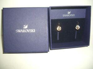SWAROVSKI Earrings Rose Pink Bella Pierced 5299318 NWT Box